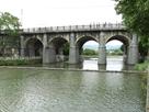 東安古橋(牛欄河親水公園)