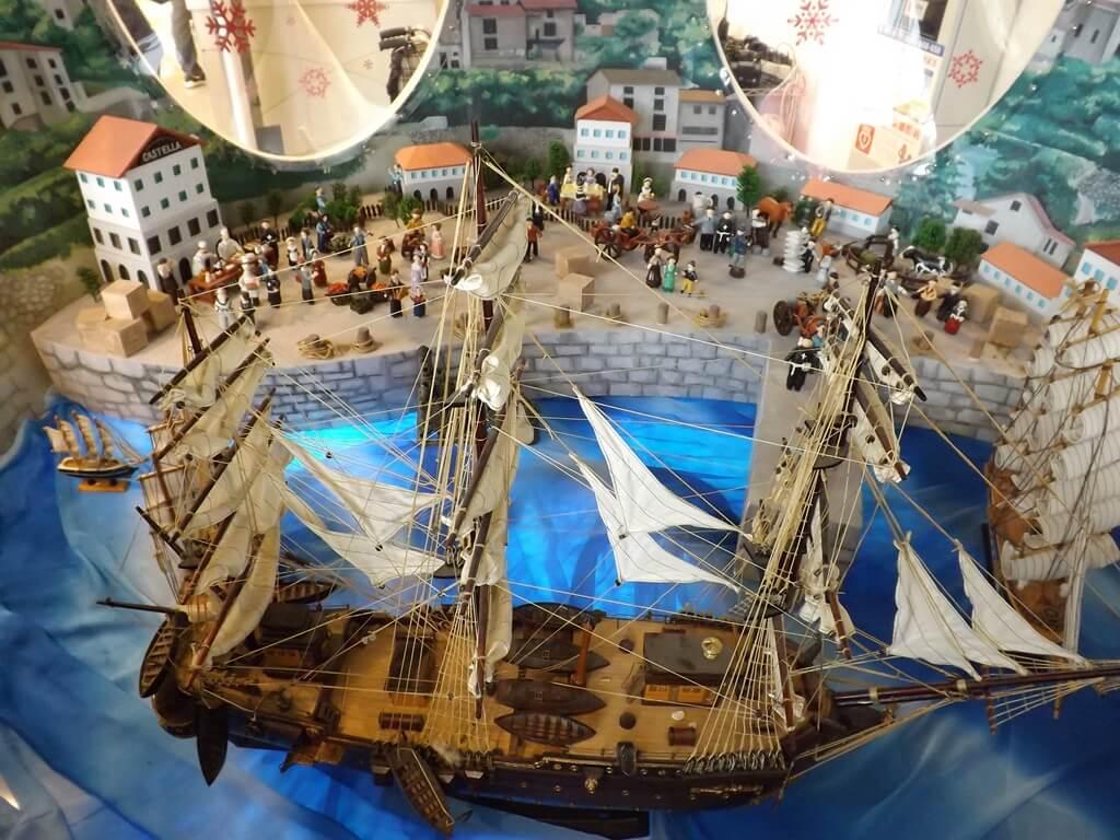 卡司‧蒂菈樂園(金格觀光工廠)的圖片:古老帆船市集模型