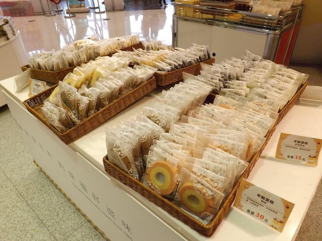 卡司‧蒂菈樂園(金格觀光工廠)的圖片:年輪蛋糕販售區