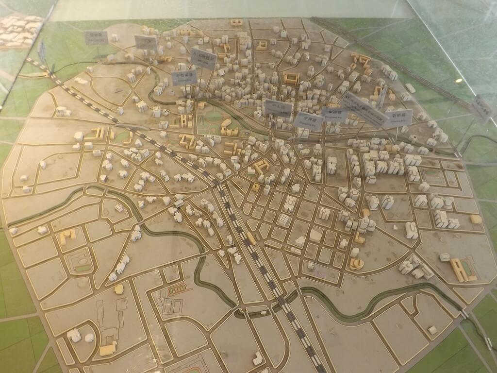 中壢老街溪河川教育中心的圖片:流經都會區模型