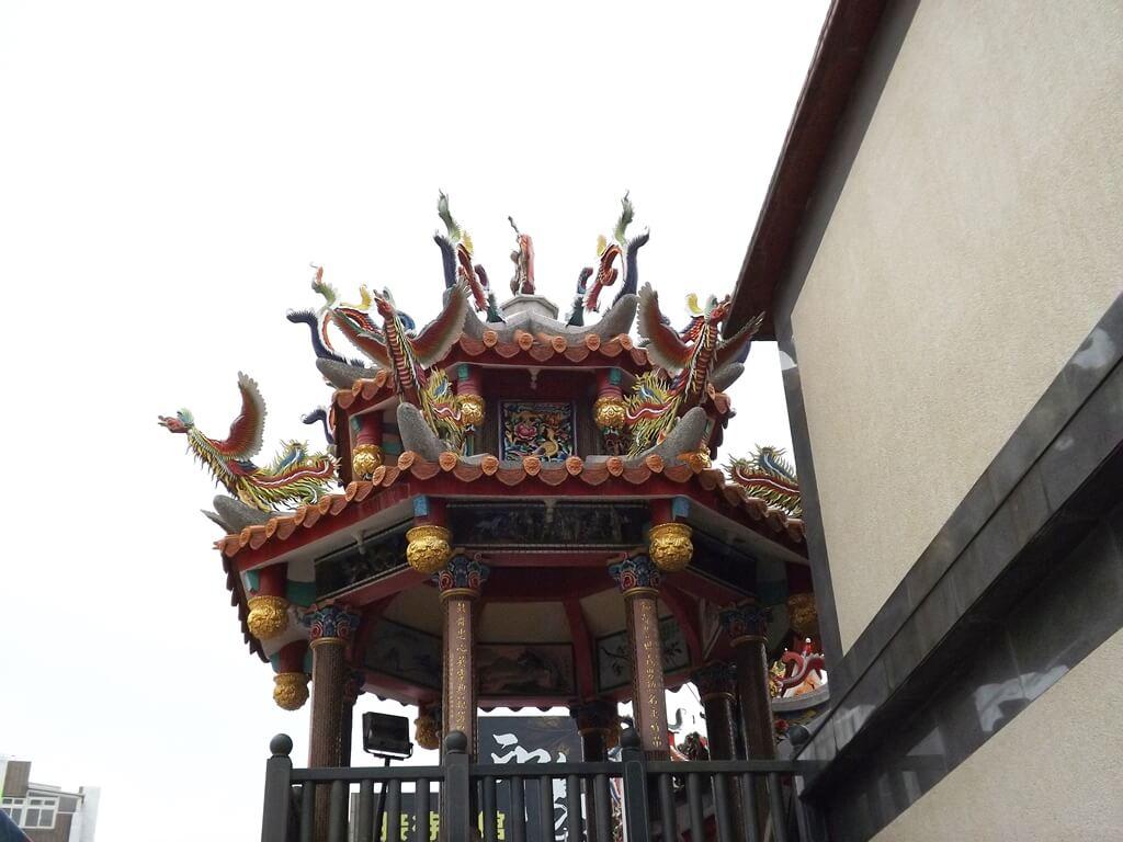 平鎮褒忠祠(義民廟)的圖片:精緻的屋頂