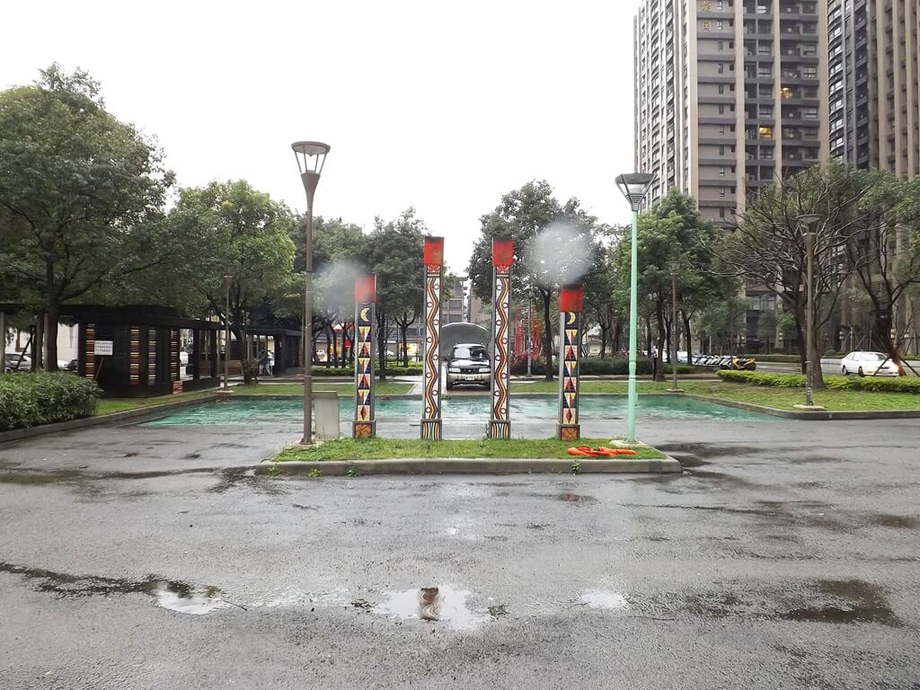 平鎮雲南文化公園的圖片:具有雲南文化代表的造型