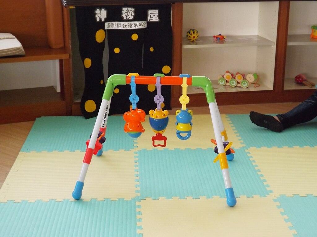 中壢親子館的圖片:兒童健力架