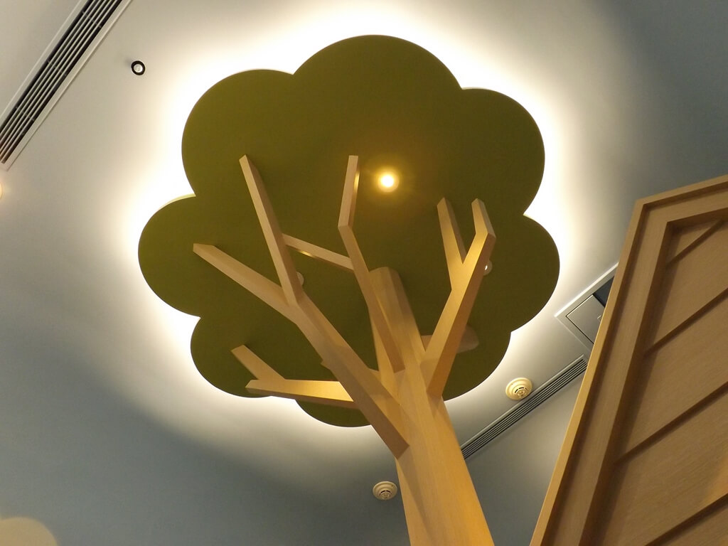 廣豐新天地的圖片:頂上的樹造型設計