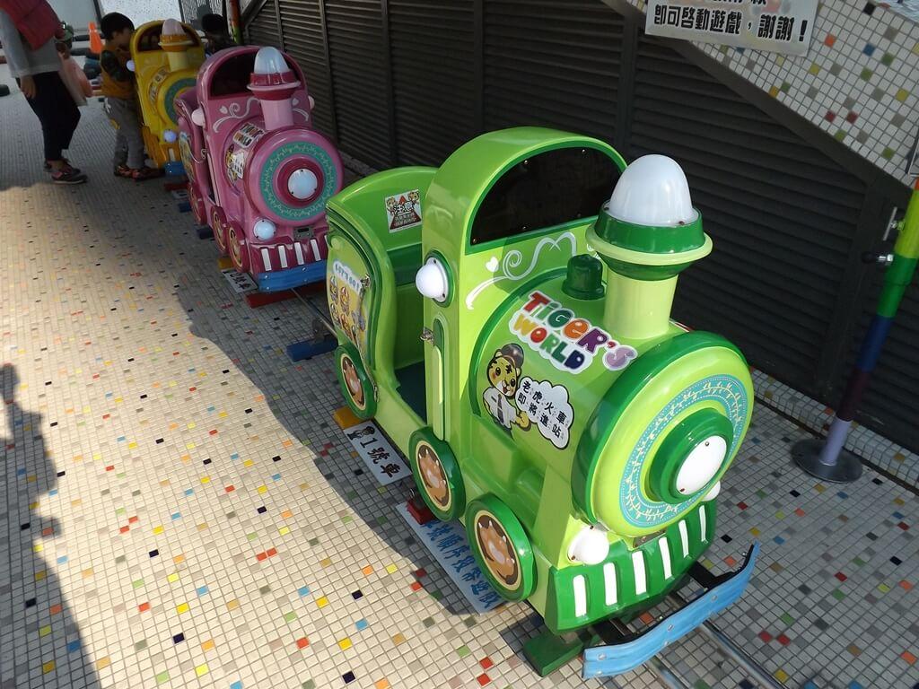 廣豐新天地的圖片:投幣式兒童小火車