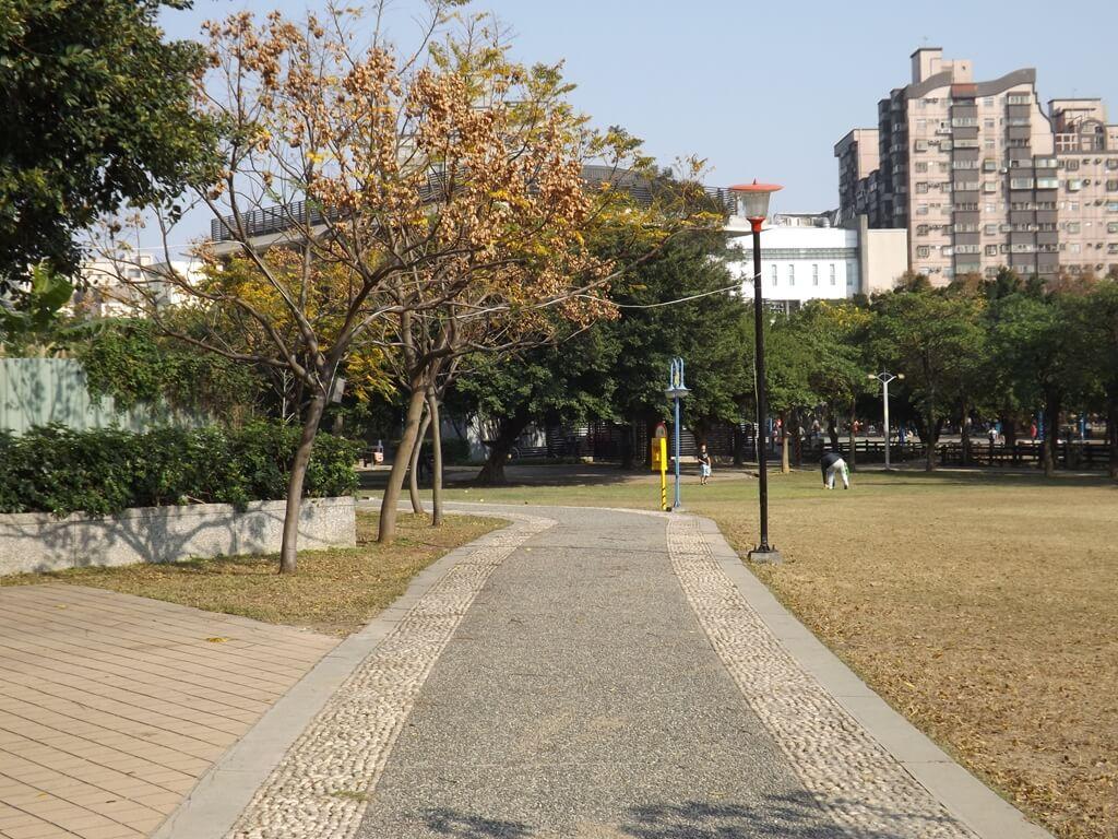 中壢中正公園的圖片:乾淨的行人步道