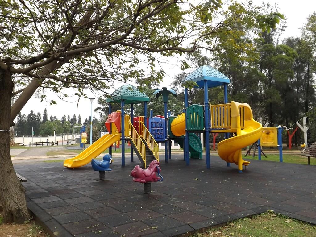 龍岡森林公園的圖片:兒童遊戲區的溜滑梯