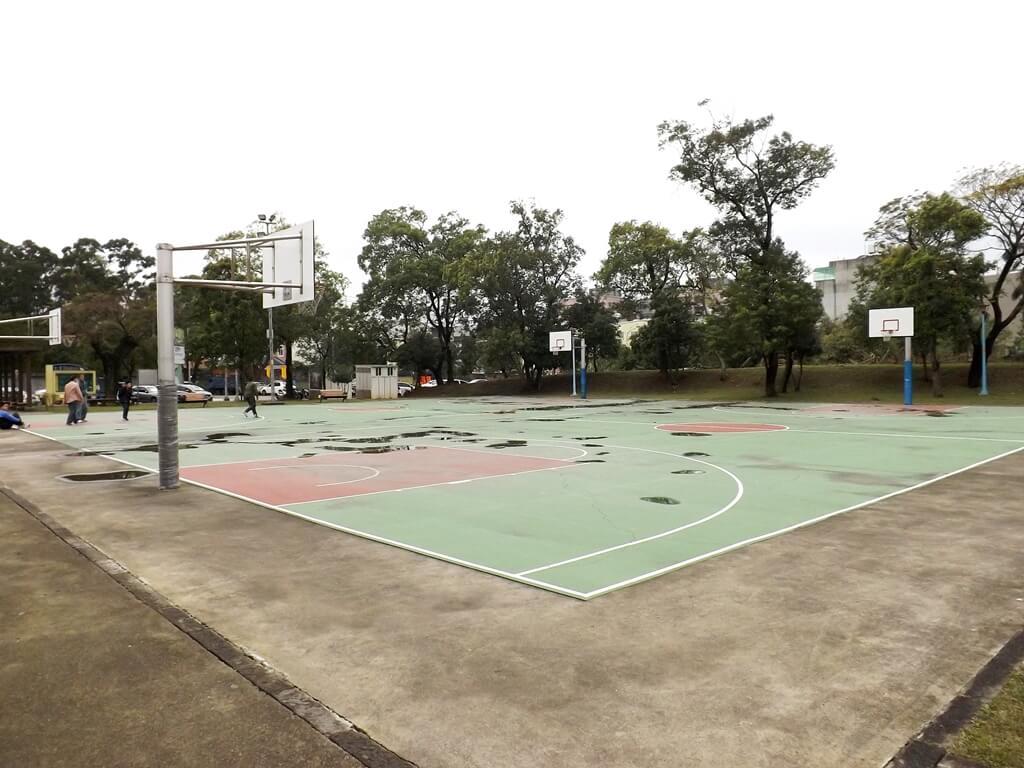 龍岡萬坪公園的圖片:籃球場