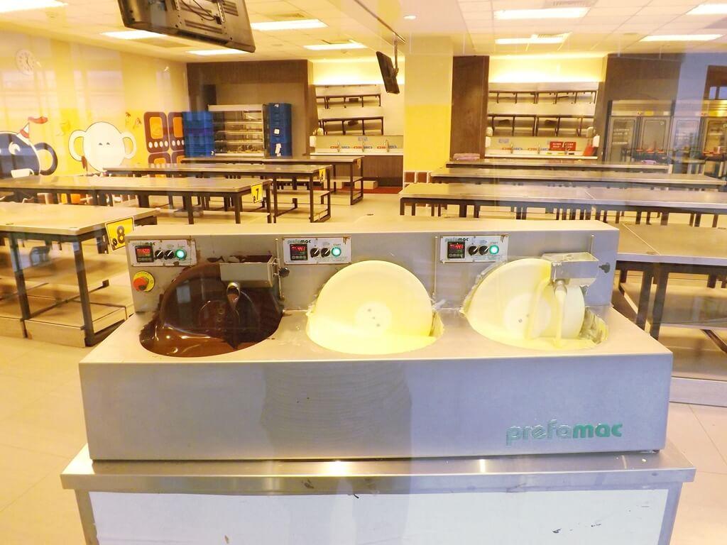 宏亞巧克力共和國的圖片:DIY 教室內用的巧克力醬
