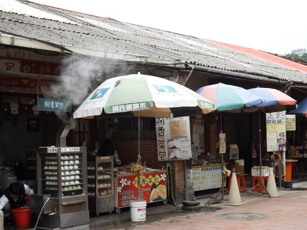 三坑老街的圖片:販售客家菜包、草仔粿的店家