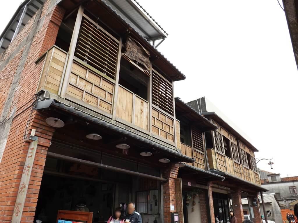 三坑老街的圖片:二樓有特色的木造外觀