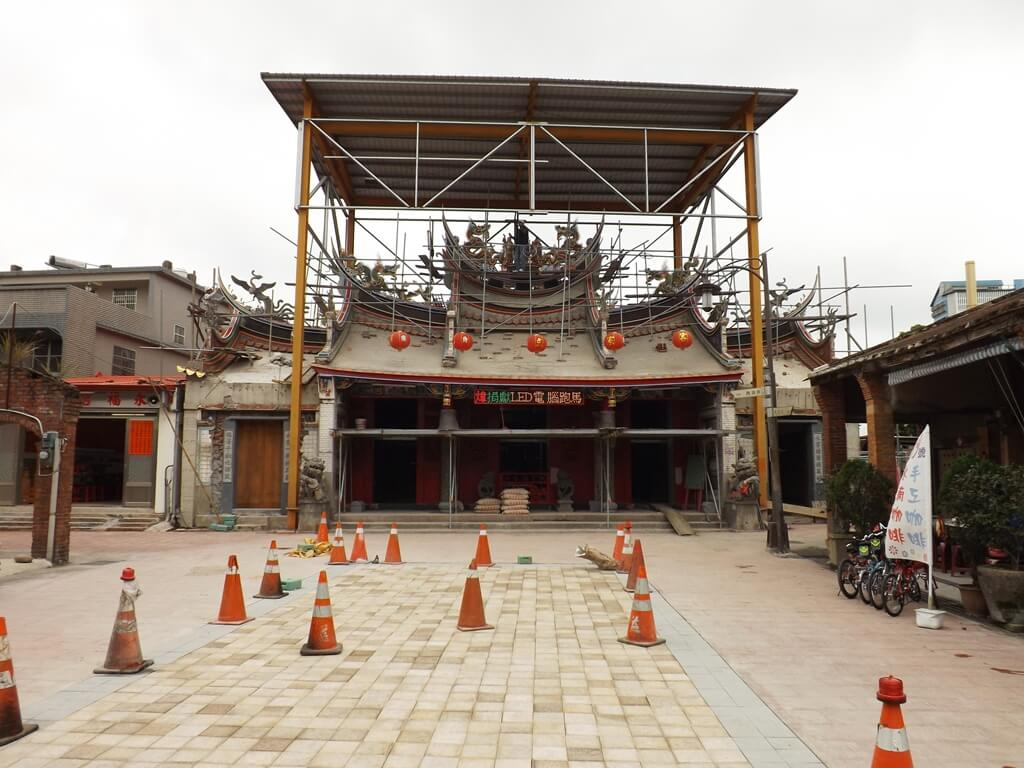 三坑老街的圖片:整修中的永福宮