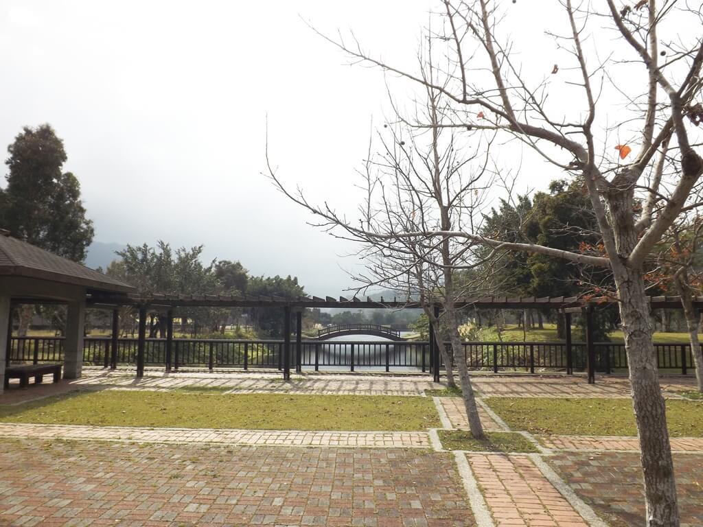三坑自然生態公園的圖片:停車場旁的美景