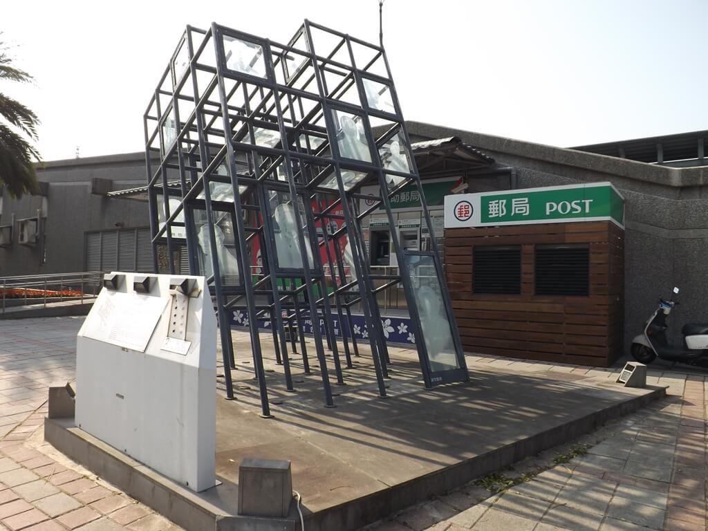 桃園市客家文化館的圖片:門口郵局前的藝術造景