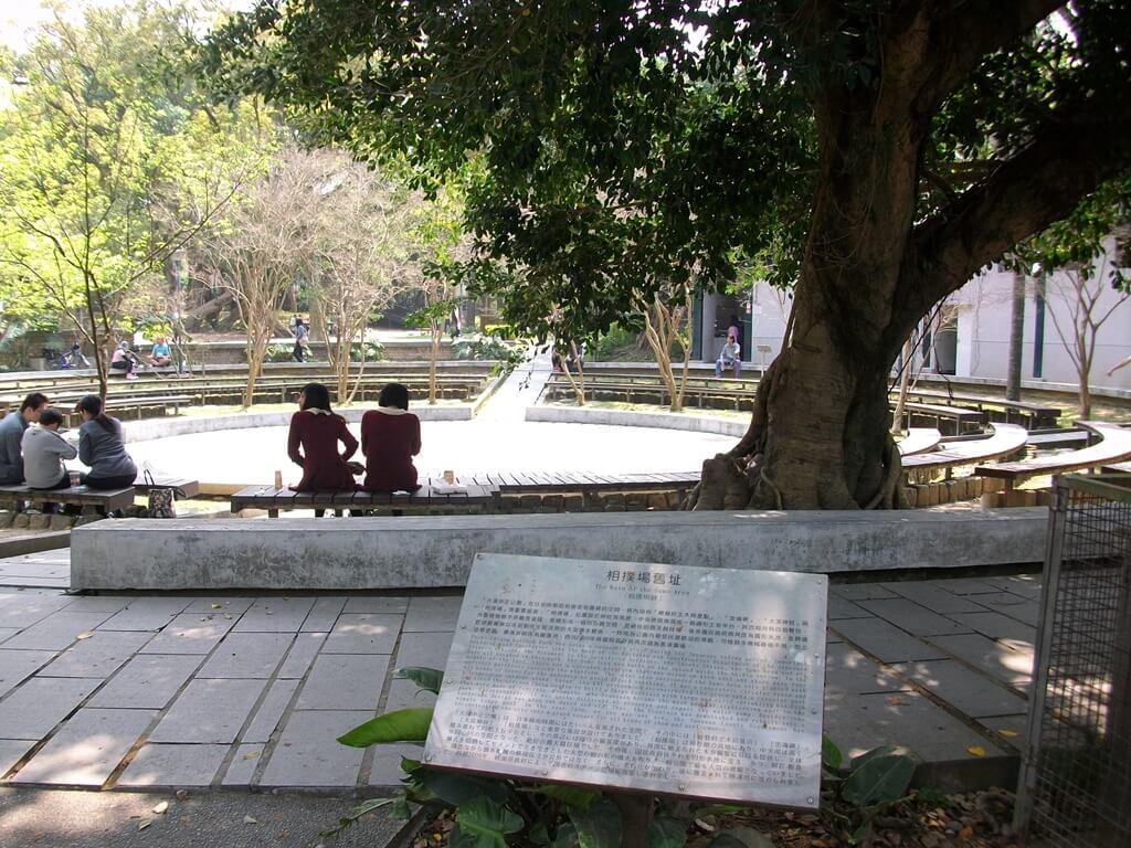 大溪中正公園的圖片:昔日的相撲廣場改建前