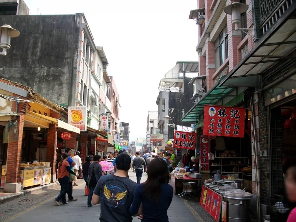 大溪老街的圖片:每到假日總是有許多逛街人潮