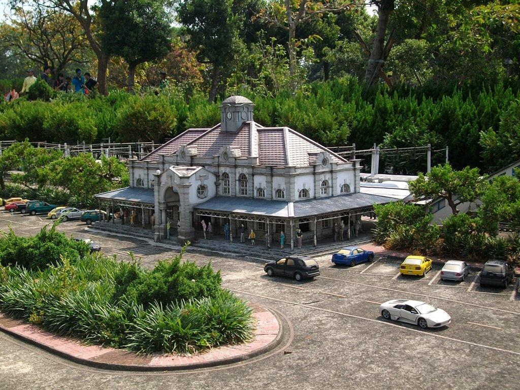 小人國主題樂園的圖片:新竹火車站模型