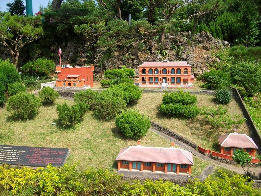小人國主題樂園的圖片:淡水紅毛城模型