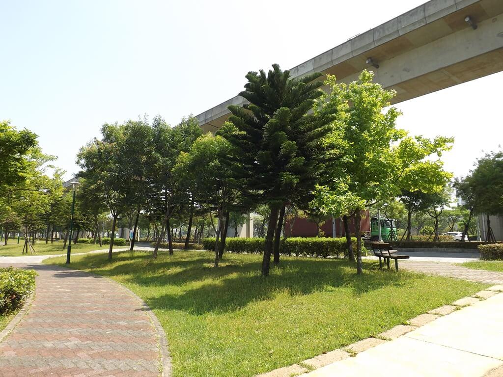 青塘園的圖片:綠樹草皮呈現綠意盎然