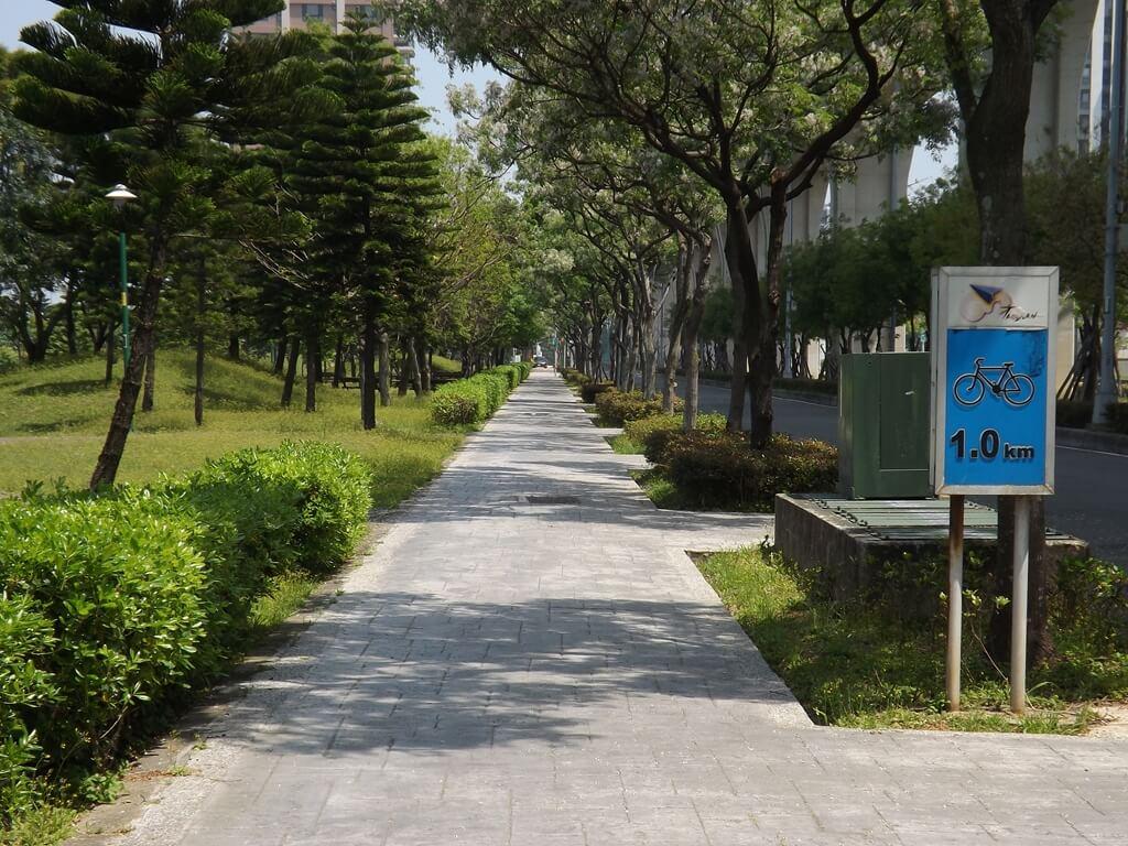 青塘園的圖片:1.0 公里的自行車道