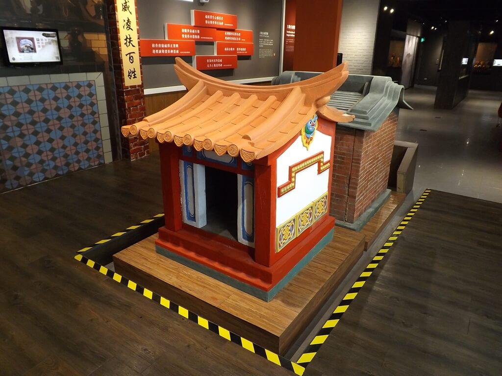 桃園市土地公文化館的圖片:小型土地公廟建築展示