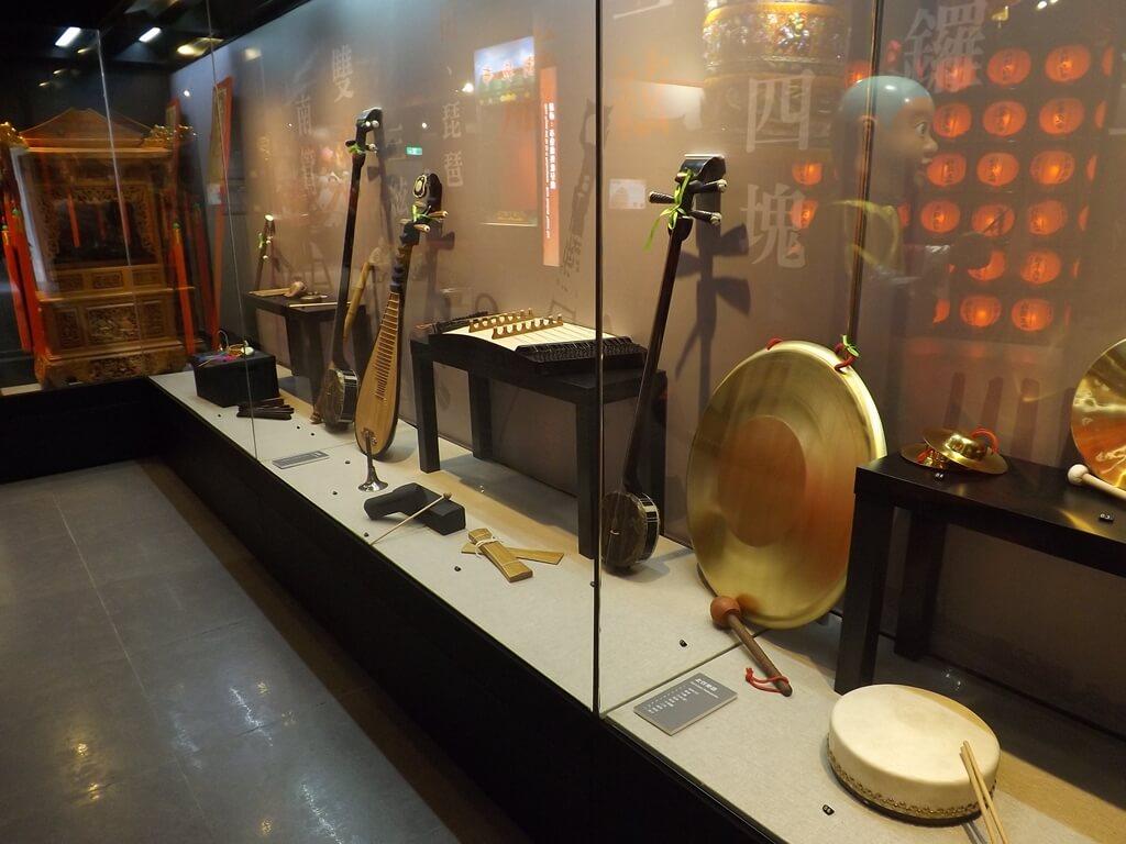 桃園市土地公文化館的圖片:傳統樂器展示