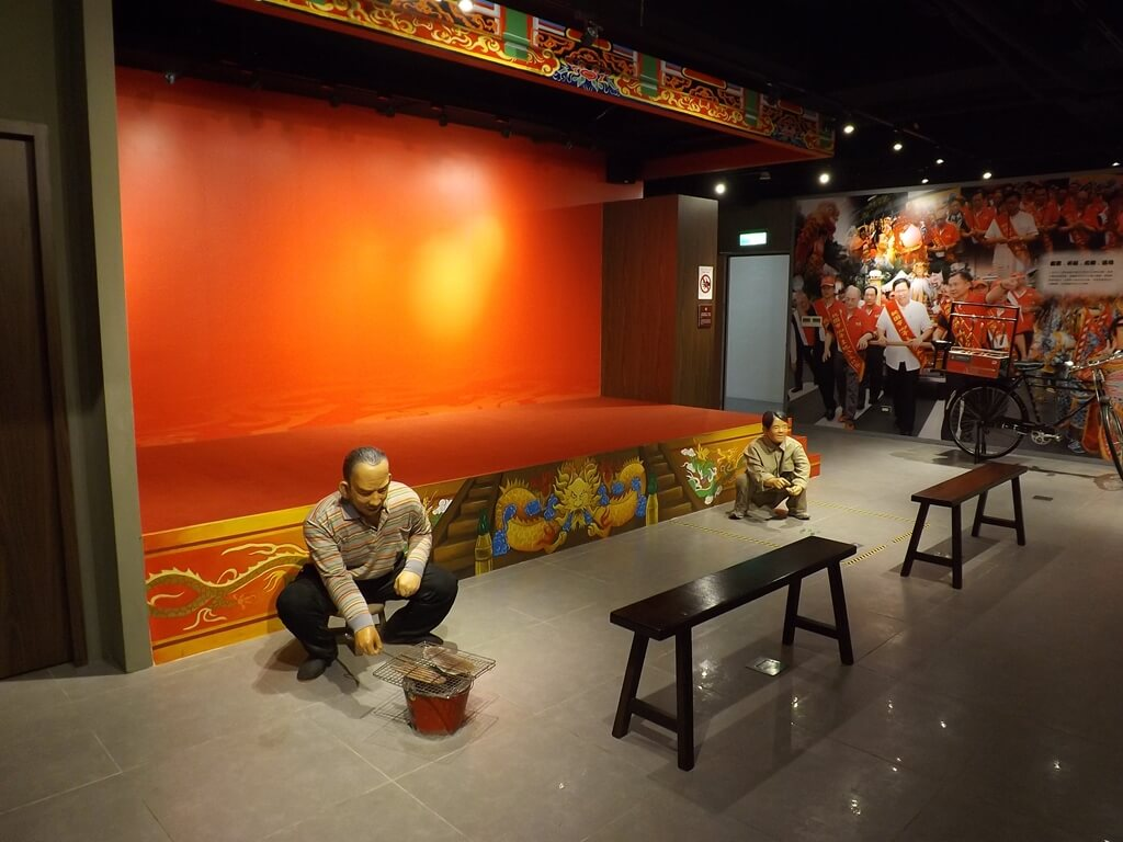 桃園市土地公文化館的圖片:表演舞台