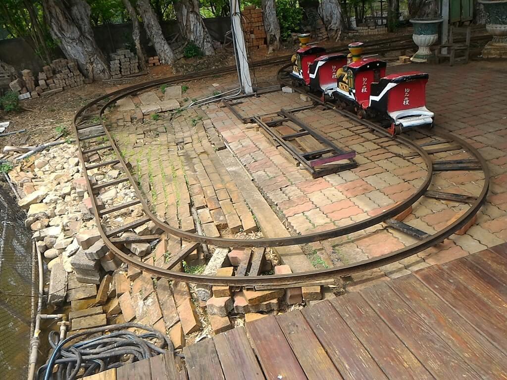 青松農場的圖片:投幣式小火車