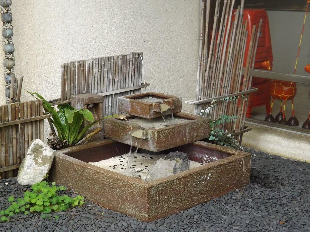 白木屋品牌探索館(停止營業)的圖片:流水造景