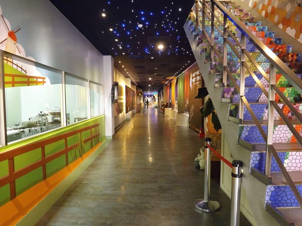 白木屋品牌探索館(停止營業)的圖片:一樓各種場景的走廊