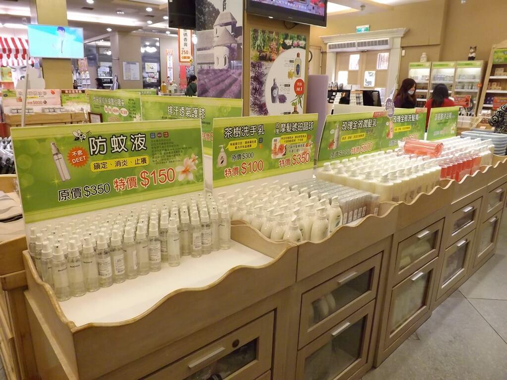 雅聞魅力博覽館的圖片:防蚊液、洗手乳展售