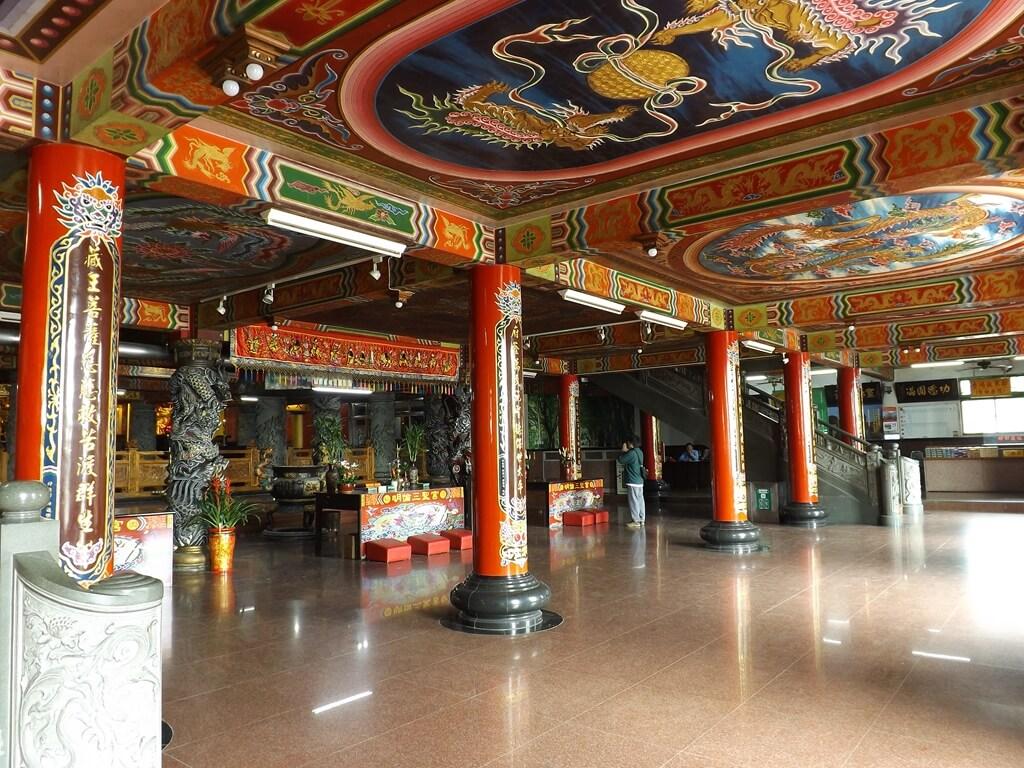 桃園明倫三聖宮的圖片:宮內一景