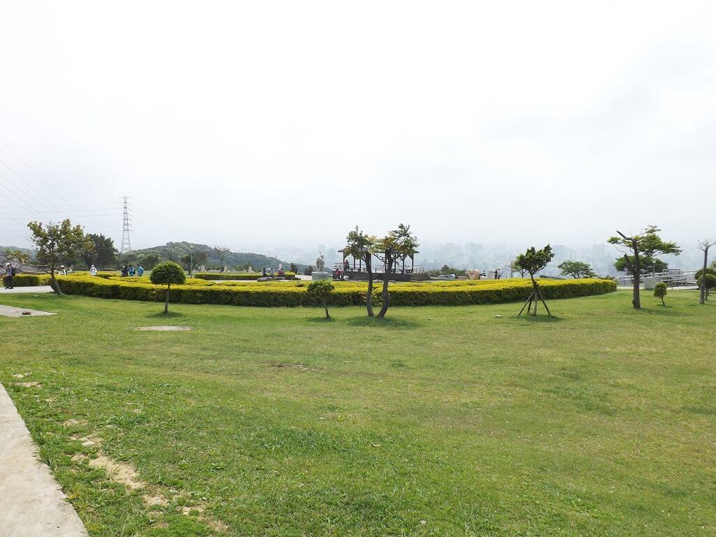 虎頭山環保公園的圖片:公園中央的大草皮