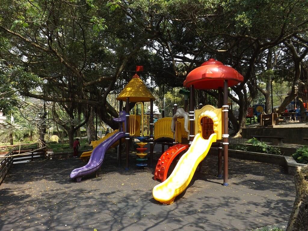 虎頭山公園(桃園市)的圖片:溜滑梯組