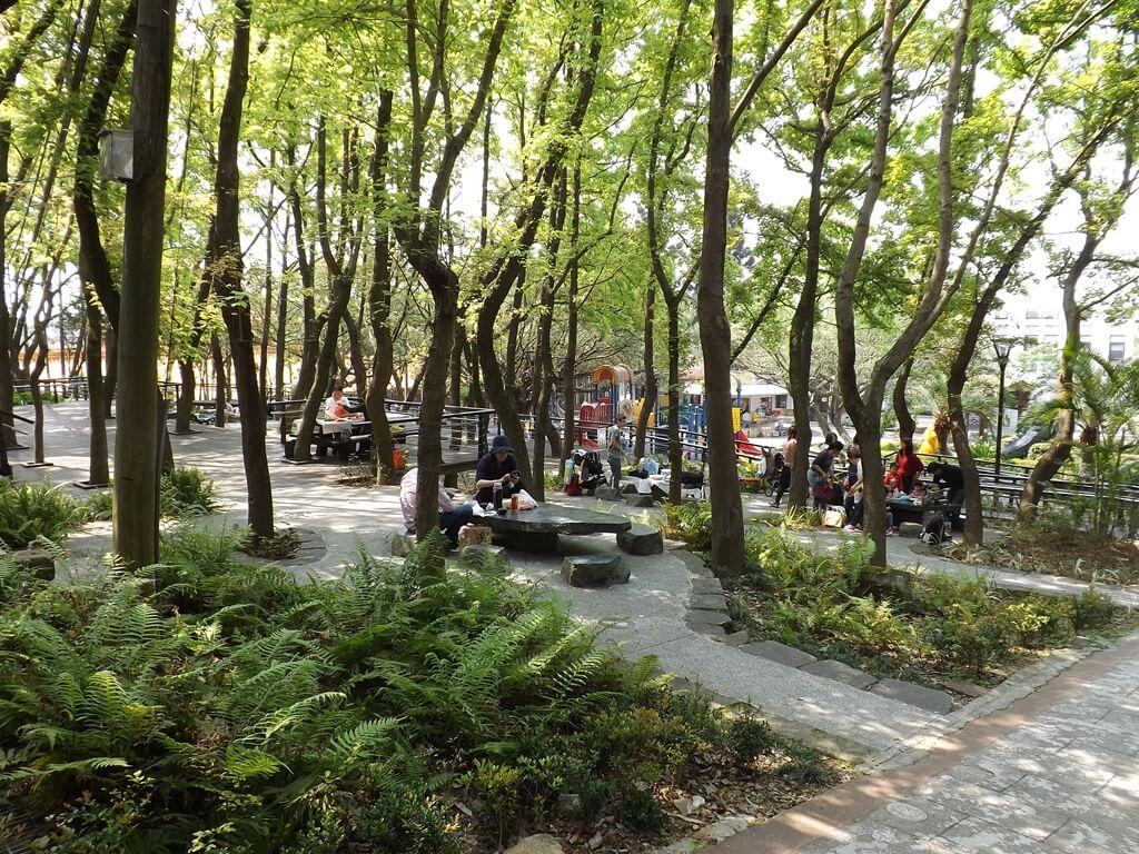 虎頭山公園(桃園市)的圖片:林蔭野餐區