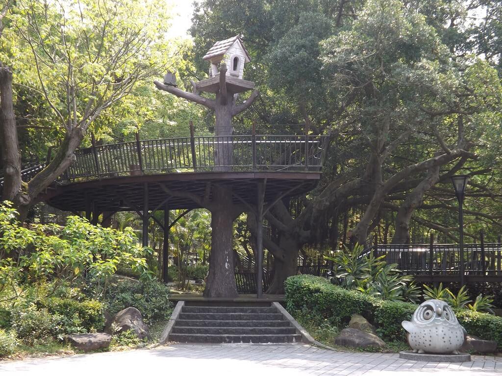 奧爾森林學堂的圖片:樹屋造景