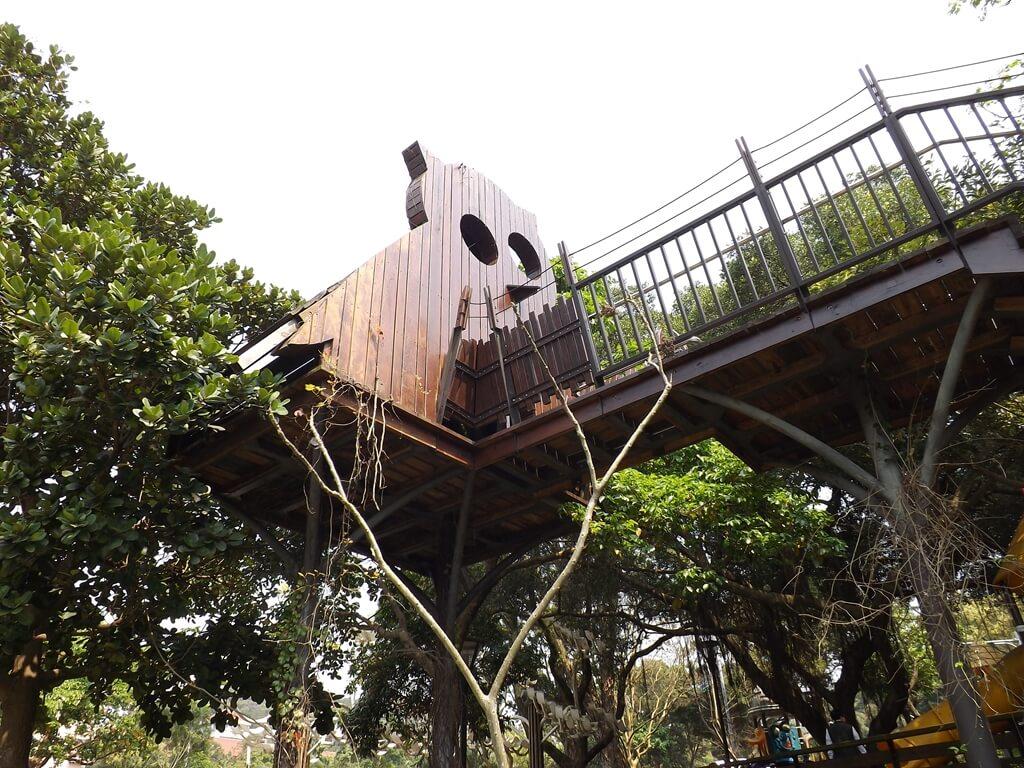 奧爾森林學堂的圖片:人可以進去的樹屋