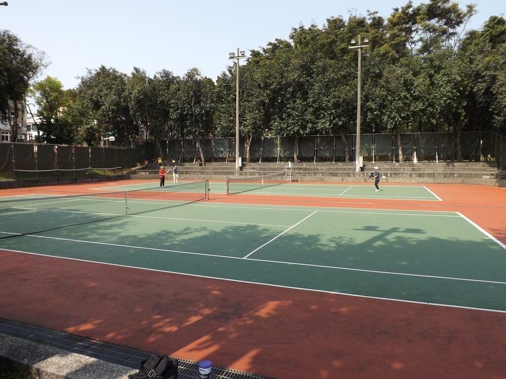桃園陽明運動公園的圖片:網球場