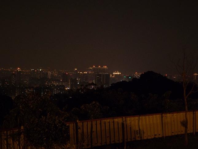 虎頭山環保公園的圖片:虎頭山夜景圖 2