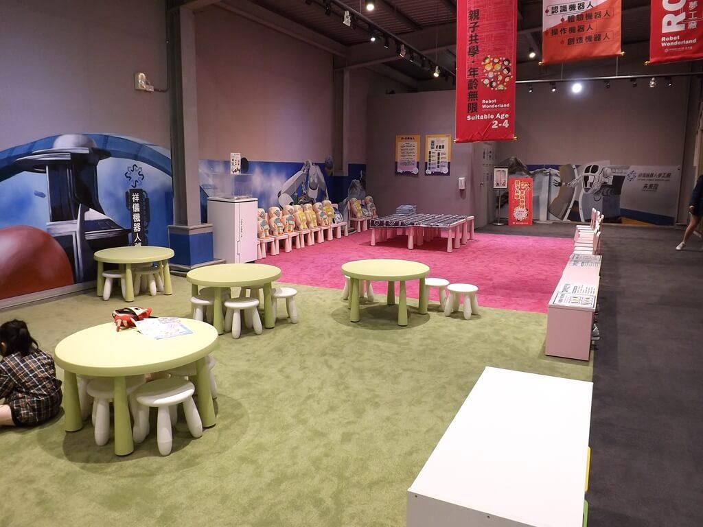 祥儀機器人夢工廠的圖片:親子遊戲區