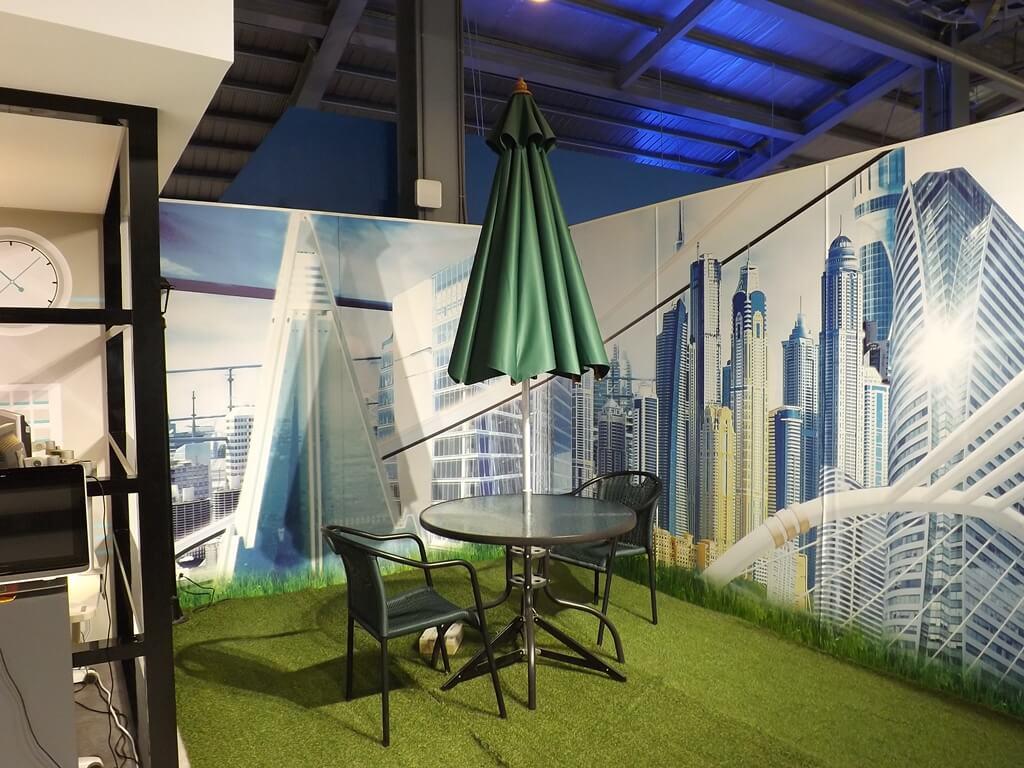 祥儀機器人夢工廠的圖片:自動傘