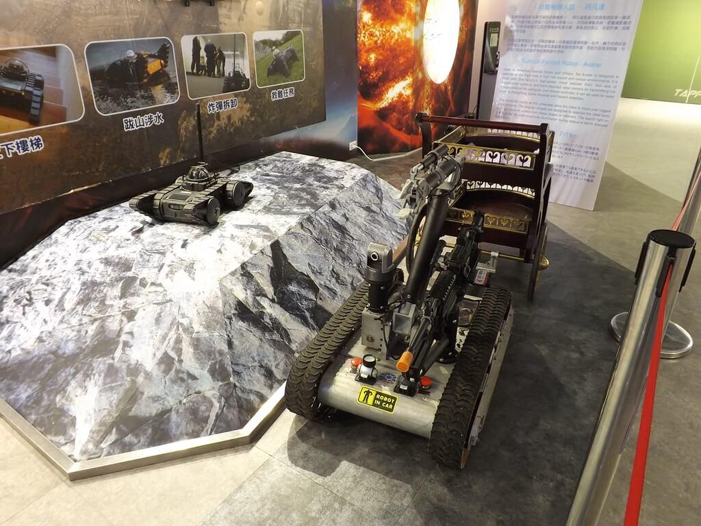 祥儀機器人夢工廠的圖片:履帶機器人