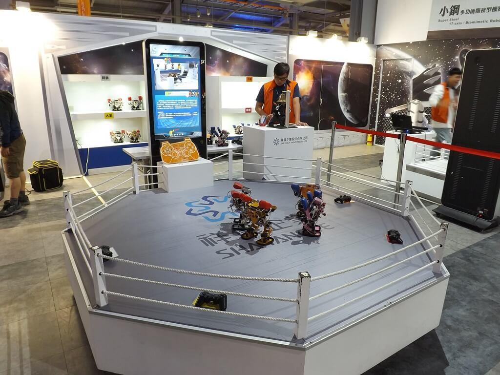 祥儀機器人夢工廠的圖片:機器人擂台