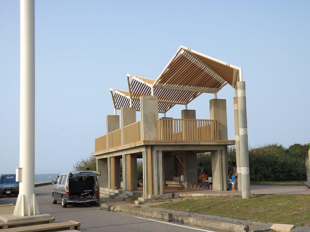 許厝港濕地的圖片:觀景台