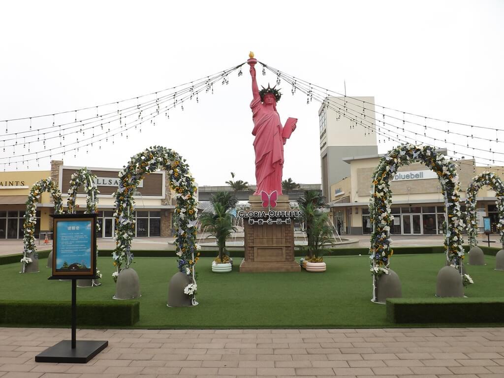 華泰名品城的圖片:自由女神造景區