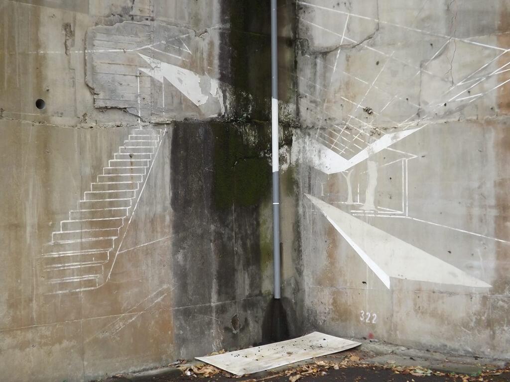 憲光二村的圖片:牆壁上的塗鴉