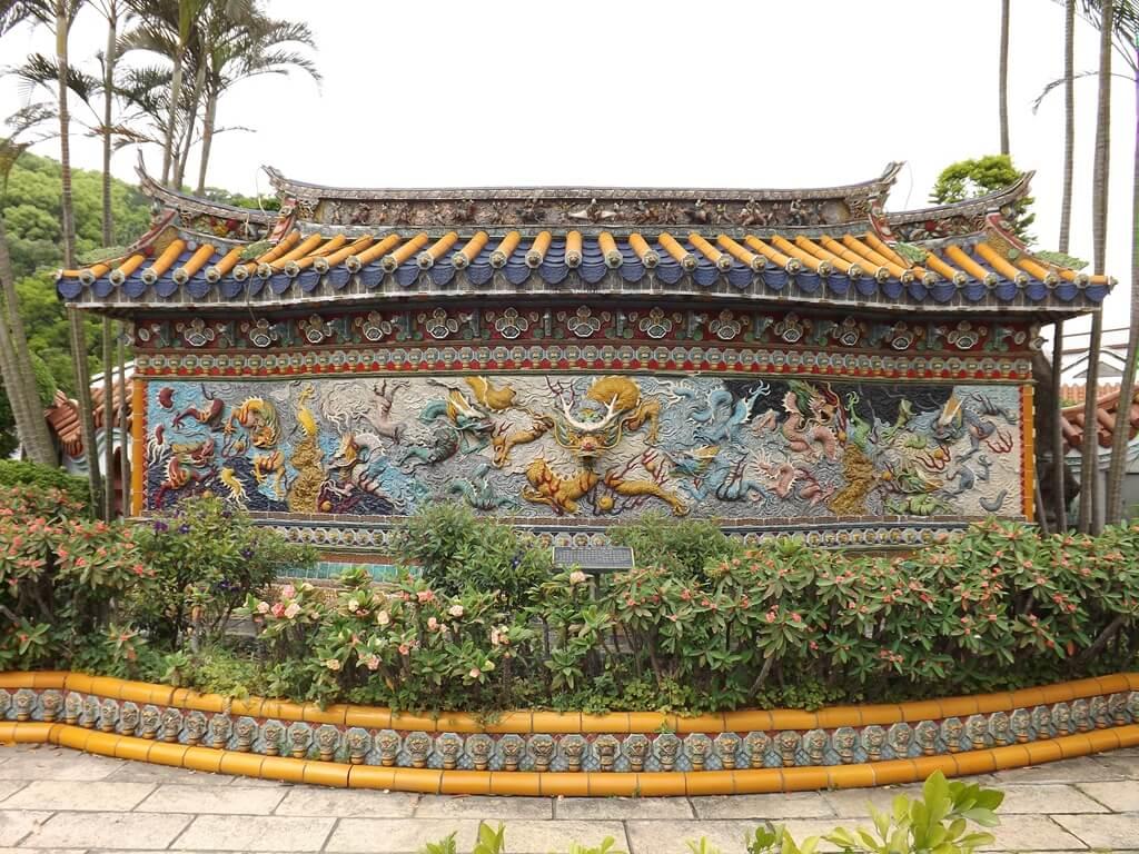 壽山巖觀音寺的圖片:寶石陶九龍壁