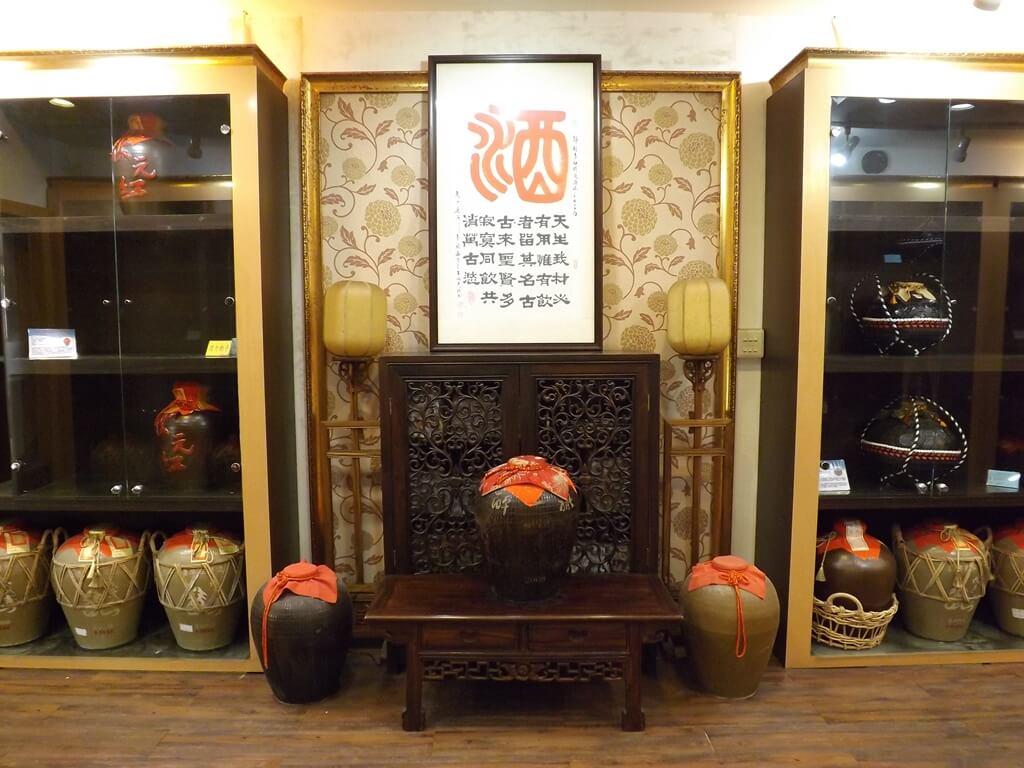 臺灣菸酒股份有限公司桃園酒廠的圖片:酒銀行室內一景