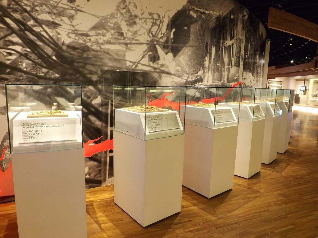 台塑企業文物館的圖片:六樓的921小學重建模型