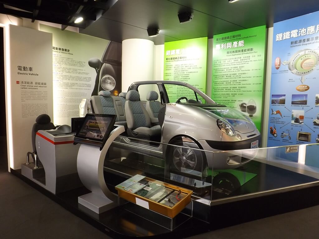 台塑企業文物館的圖片:台塑汽車電動車展示